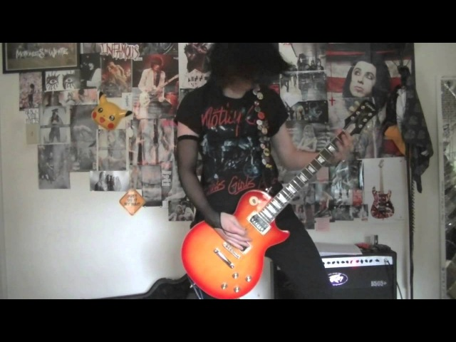 Fallen Angels Black Veil Brides guitar cover with solo