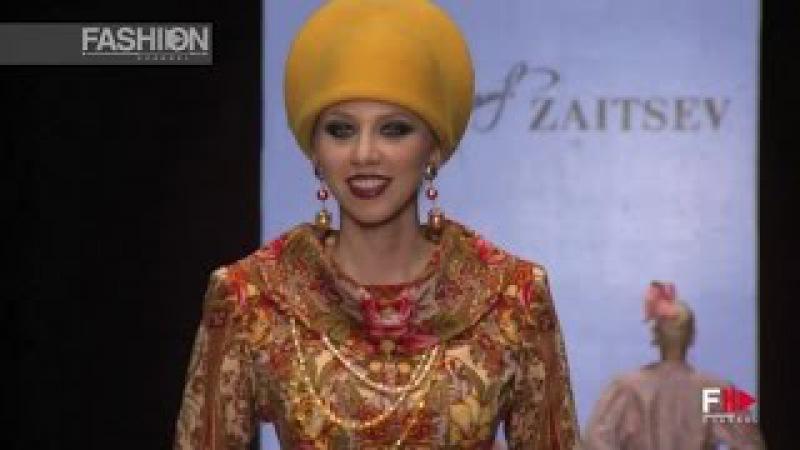 SLAVA ZAITSEV Mercedes-Benz Fashion Week Russia Spring 2016 by Fashion Channel
