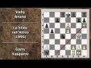 Partite Commentate di Scacchi 23- Kasparov vs Anand - La Sfida nell'Attico - PCA WCM 1995