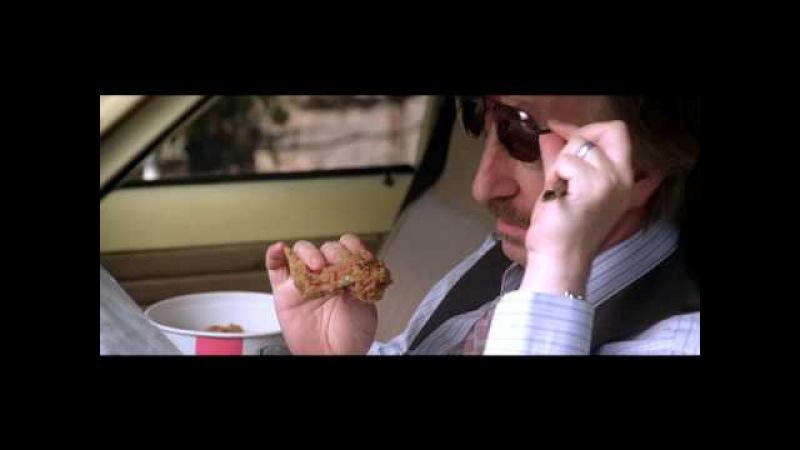 Alan Rickman eating Kentucky Fried Chicken in Bottle Shock