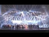 [VIDEO CUT] 151230 EXO & All Artists - ending @ KBS Gayo Daechukje