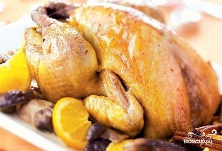 Блюда из цесарки рецепты с фото