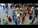 Выставка игрушек в Москве KIDS RUSSIA. 1-3 марта 2016. Дискотека ростовых кукол