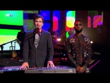 #BringTheNoise David Tennant, Tinie Tempah and Katherine Ryan singing West End Girls