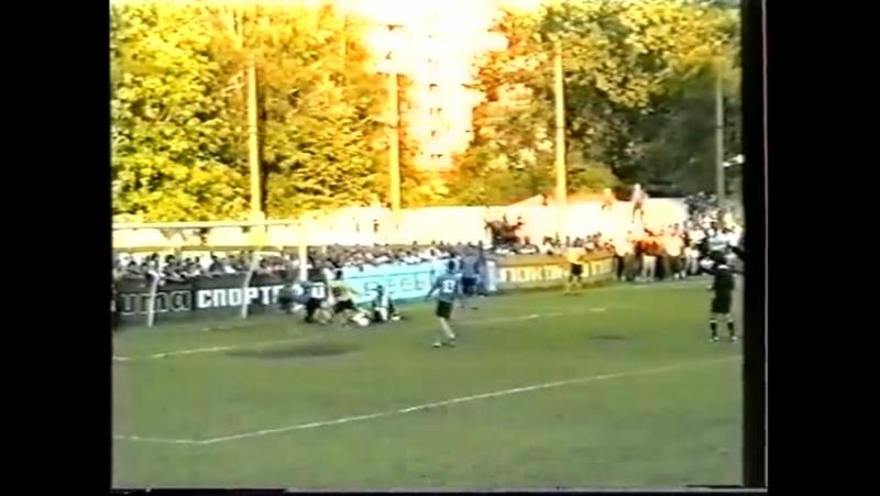 ЧУ 1996/97. 2-й тур. Ворскла - Кремінь (Кременчук) 2-0 (Шарій, 2-0)
