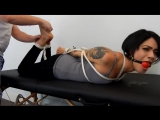 Johanna Hogtied and Tickled Barefoot