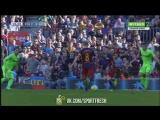 Барселона 2:0 Хетафе. Эль-Хаддади. 19 минута