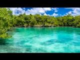Потрясающий вид на тропический остров