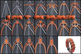 Плетение браслетов из паракорда фото