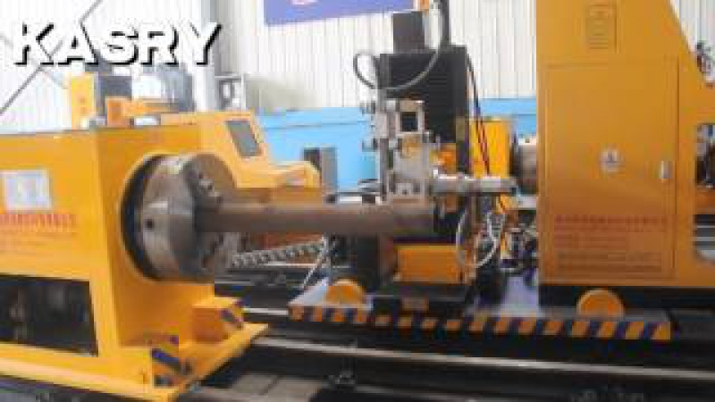 Kasry round pipe cutter 8axis