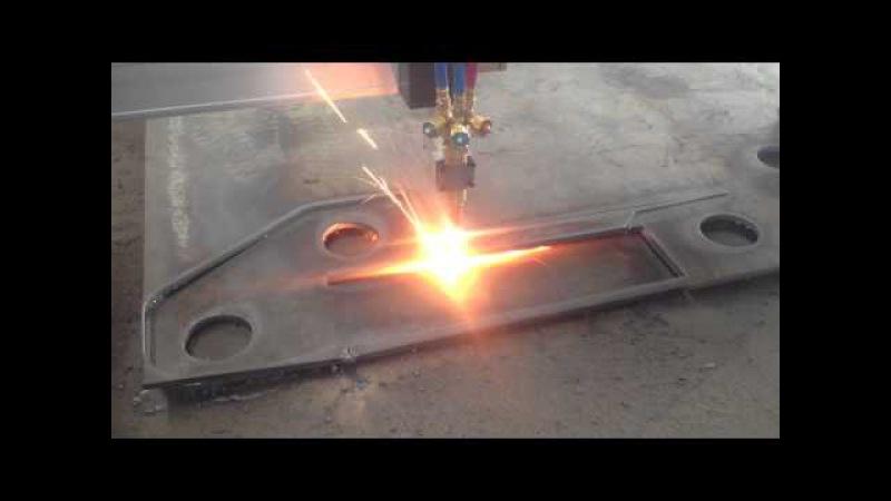 Kasry cnc portable cnc flame cutting machine video