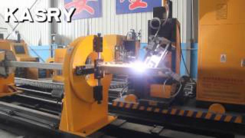 Kasry rectangular pipe cutter 8 aixs