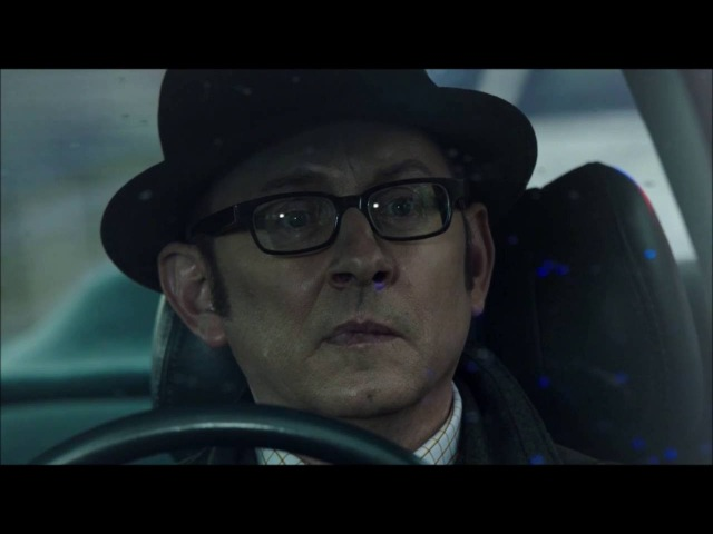 Person of Interest - Finch talks to the Machine in a car (05x11)