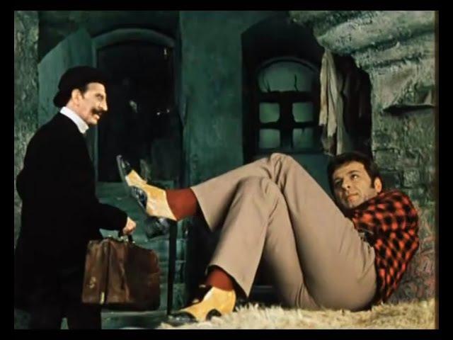 Остап Бендер разводит Кису Воробьянинова на проценты 12 стульев 1971