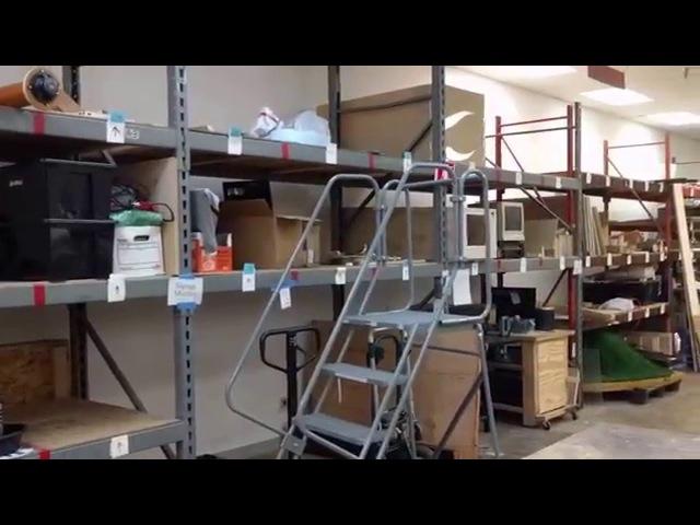 Видеоэкскурсия по общественной мастерской в Далласе