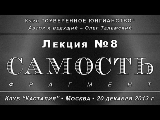 Суверенное Юнгианство, лекция №8. Самость /демо/ (2013.12.20)
