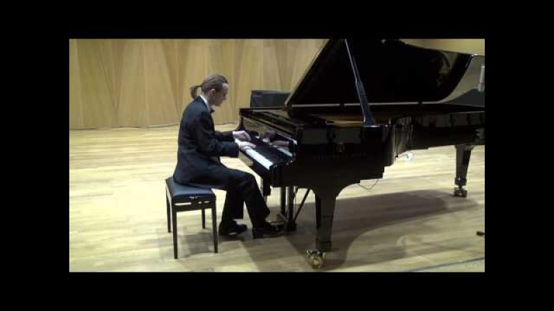 Александр Лубянцев Lubyantsev playing Bach WTC b2 g minor, Chopin Etude 4, Ravel Gaspard de la Nuit