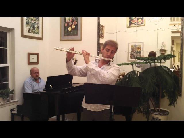 Nino Rota. Music from Romeo Juliette. Eugene Magalifs arrangement for Flute and Piano