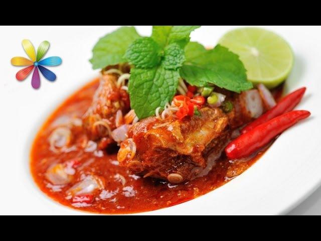 Рецепт домашней консервированной скумбрии в томатном соусе Все буде добре Выпуск 779 от 23 03 16