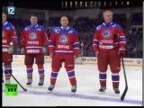 В Омске чествовали хоккеистов, сыгравших на одном льду с Владимиром Путиным
