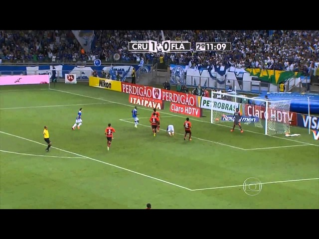 Gol Espetacular Valeu o Ingresso Gol de Placa de Éverton Ribeiro Cruzeiro 2x1 Flamengo