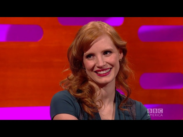 Jessica Chastain on Being A Ginger - The Graham Norton Show