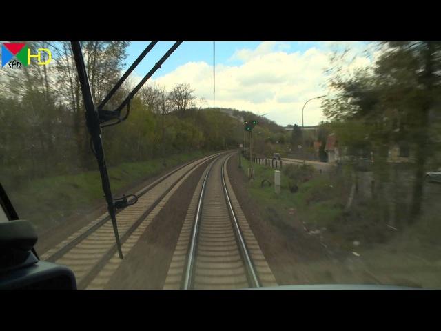 Führerstandsmitfahrt | RE 03 von Saarbrücken Hbf über Mainz nach Frankfurt am Main Hbf | VLEXX [HD]