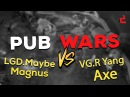 Dota 2 Pub Wars (LGD.Maybe Magnus vs VG.R Yang Axe 8k MMR  Gameplay)