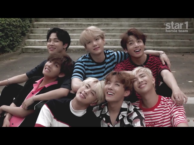 [FILMING SKETCH] BTS - STAR1 Magazine Vol.53 ~ 8.2016 Issue