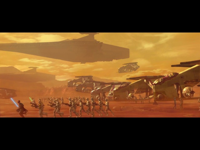Star Wars: Attack Of The Clones - Battle Of Geonosis