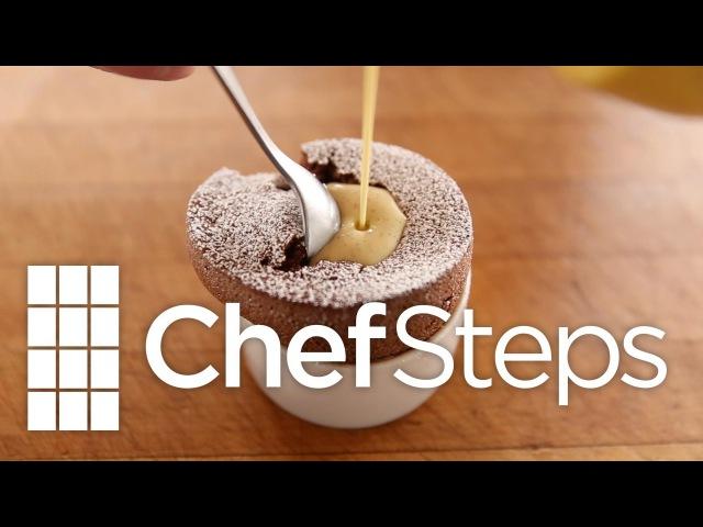 Molten Chocolate Soufflé
