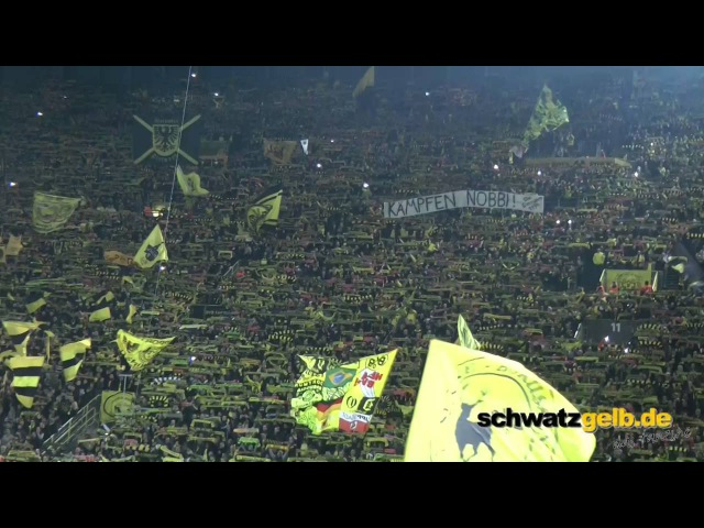 Dortmund and Liverpool Fans singing best YNWA award 2016 YOULL NEVER WALK ALONE BVB - LFC