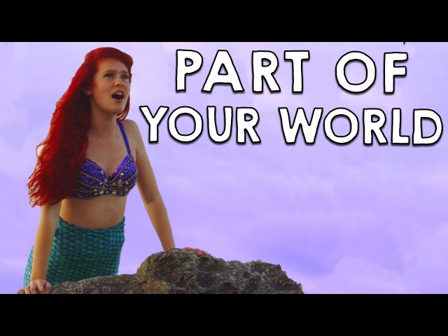 Ariel in Real Life Part of Your World Disney's Little Mermaid