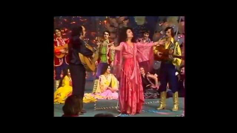 Валентина Вишневская Новогодний Голубой огонек 1981 год