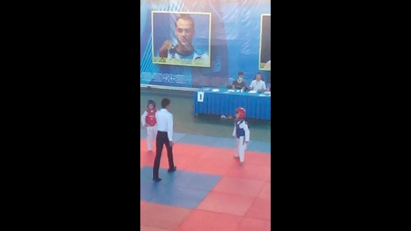Taekwondo. Turnir Qizilorda. Shyeli - Bestam. 2-raund