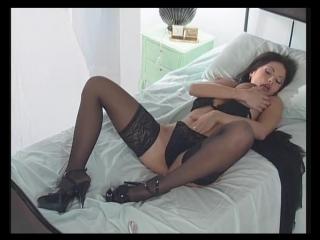 Veronika zemanova - veronica stupenda (full scene) (black lingerie) порно