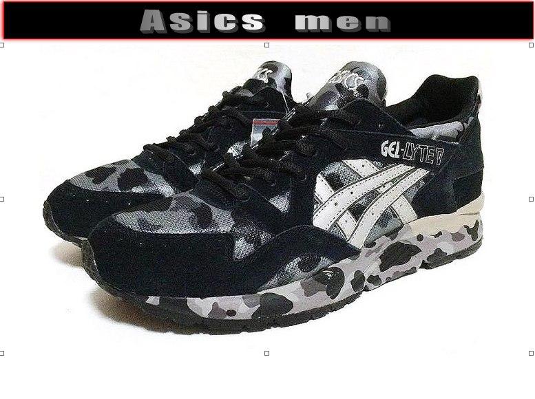 камуфляжные кроссовки Асикс