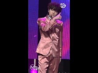 [Fancam] 161020 BTS - Blood Sweat & Tears (Suga focus) @ M!Countdown