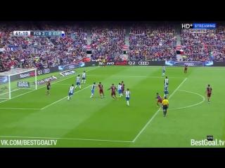 Барселона 5:0 Эспаньол. Обзор матча и видео голов