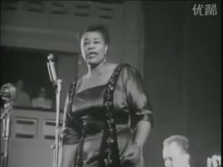 Ella Fitzgerald - Lullaby Of Birdland 1957 (концерт в Европе)