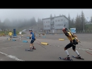 13 часть, смешанная эстафета,Чемпионат Украины по летнему биатлону среди юниоров и юниорок