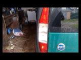Как снять задний СТОП (Фонарь) Fiat Doblo?