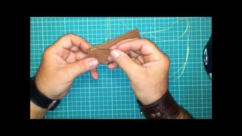 Техника шитья одной иглой