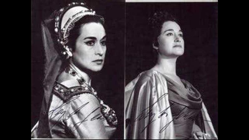 Leyla Gencer - Coppia iniqua, l'estrema vendetta (Anna Bolena)