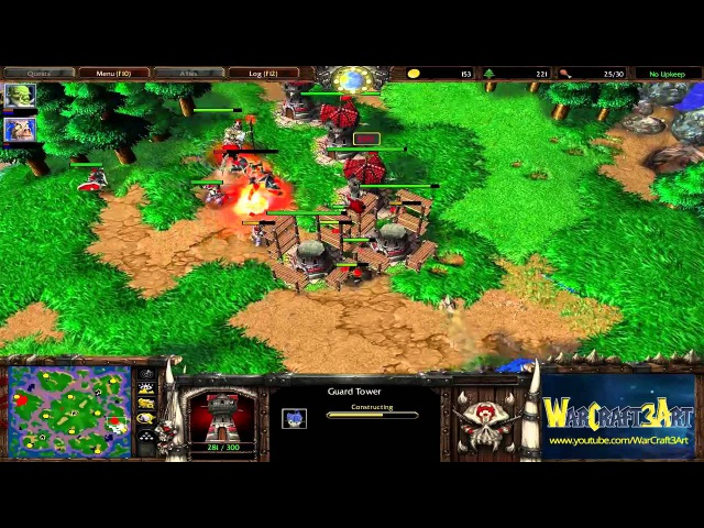 EDIS(HU) vs Grubby(ORC) - WarCraft 3 Frozen Throne - RN2076