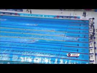 Плавание I Европейские Игры в Баку 2015 дистанция 400 метров комплексным плаванием девушки