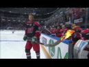 Linus Omark tries to score with a burning stick at KHL ASG16