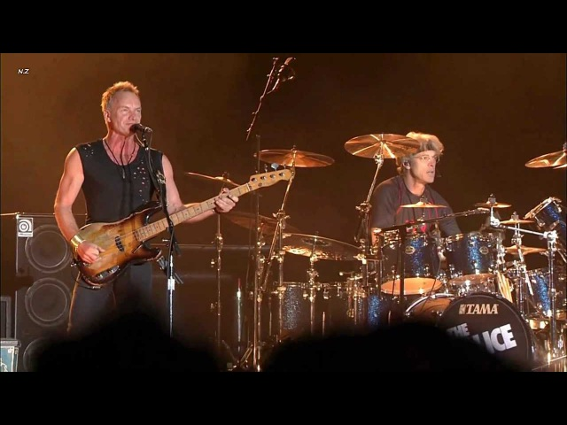 The Police Message in a Bottle 2008 Live Video HD