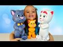 КОТ ТОМ Говорящая Интерактивная Игрушка Tom Cat funny toy unboxing