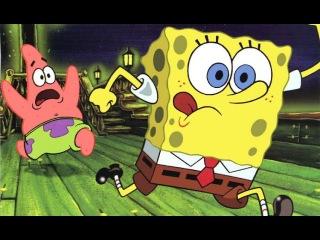 Губка Боб Квадратные штаны - Спанч Боб! 9 серия. Игра как мультфильм. Свет, камера, штаны.Новое